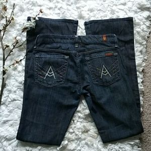 For all 7 mankind A pocket flare jeans
